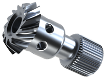 custom spiral bevel gears